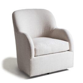 Pamela Club Chair, Swivel