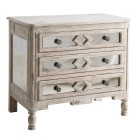 Diamond Bedside Chest