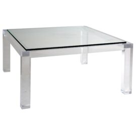 Moderne Square Cocktail Table