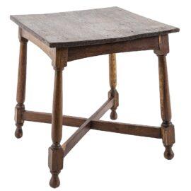 Old Teak Lamp Table