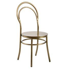 Metz Brass Chair