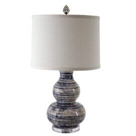 Indigo Drift Lamp