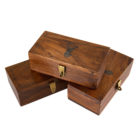 Stag Head Wood Box